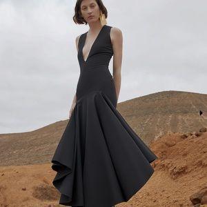 Solace plunging neckline dress sz 4